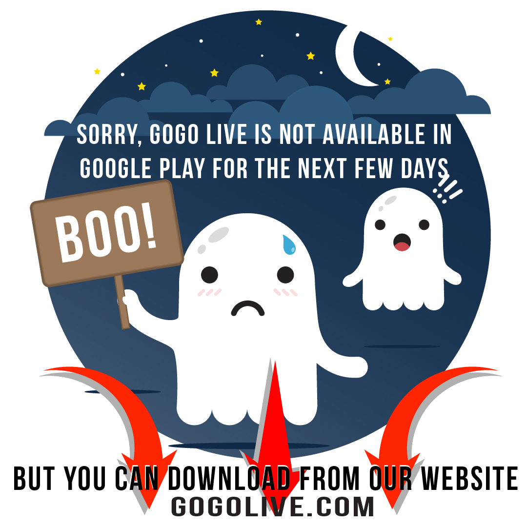 Google Play Issue – GOGO LIVE